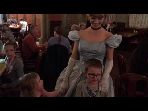 Disney character dinner Cinderella