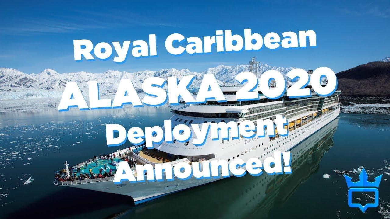 Cruise To Alaska 2020.Royal Caribbean Announces 2020 Alaska Cruise Season