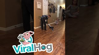 A New Style of Curling || ViralHog