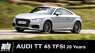 Audi TT 45 TFSI 245 ch ESSAI POV Auto-Moto.com