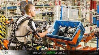 Fábrica Fiat (MG) - Indústria 4.0 - Exoesqueleto - 3 de 3