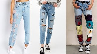 DIY TUMBLR INSPIRED JEANS