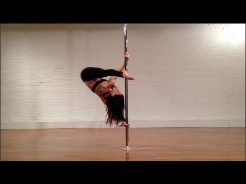 Phoenix -  pole tutorial with Michelle Natoli (in English)
