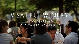 James Cluer in Napa, California: Part 6 - V. Sattui Winery
