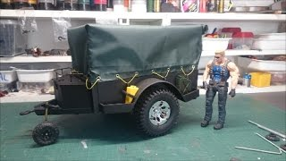 HOW TO BUILT TRANSFORMATION SCALE RC TRAILER CRAWLER 1/10