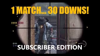30 Downs in 1 Match! (Subscriber Edition) - The Last of Us: Remastered Multiplayer (The Dam)
