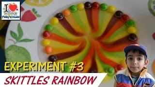 Skittles Color Experiment | Rainbow | Science Experiment for Kids  3 | Prakys World