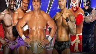 Sin Cara, R  Mysterio & R  Orton VS Alberto del Río & Time Prime Players