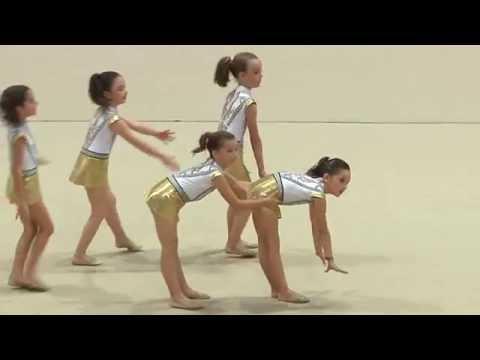 Exhibición de fin de curso de la Escuela de Gimnasia Rítmica de Ceuta   03