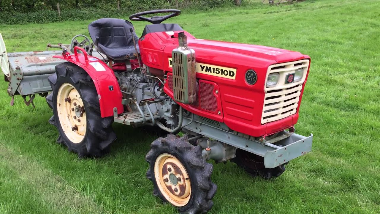 Yanmar Ym1510d 4wd Compact Tractor For Sale Youtube