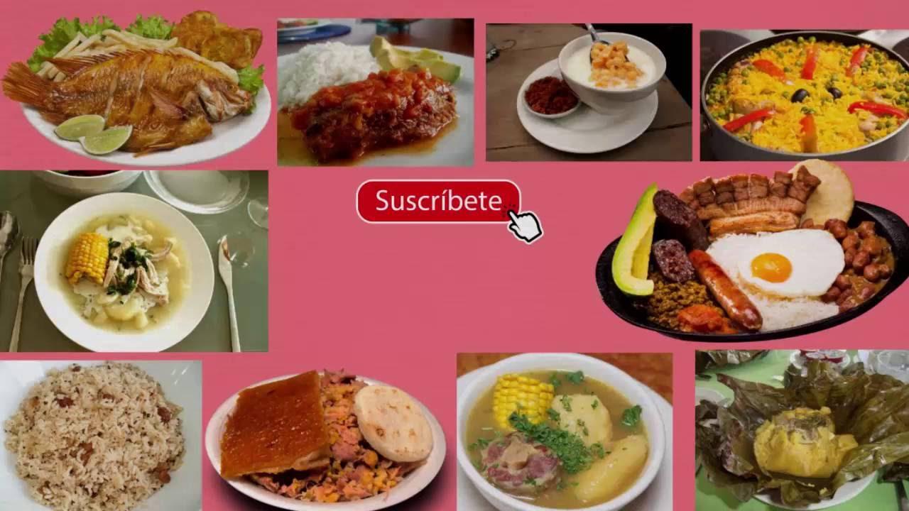 Top 10 de platos o comidas tipicas en Colombia YouTube