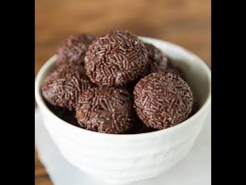How to make chocolate brigadeiros from brazil