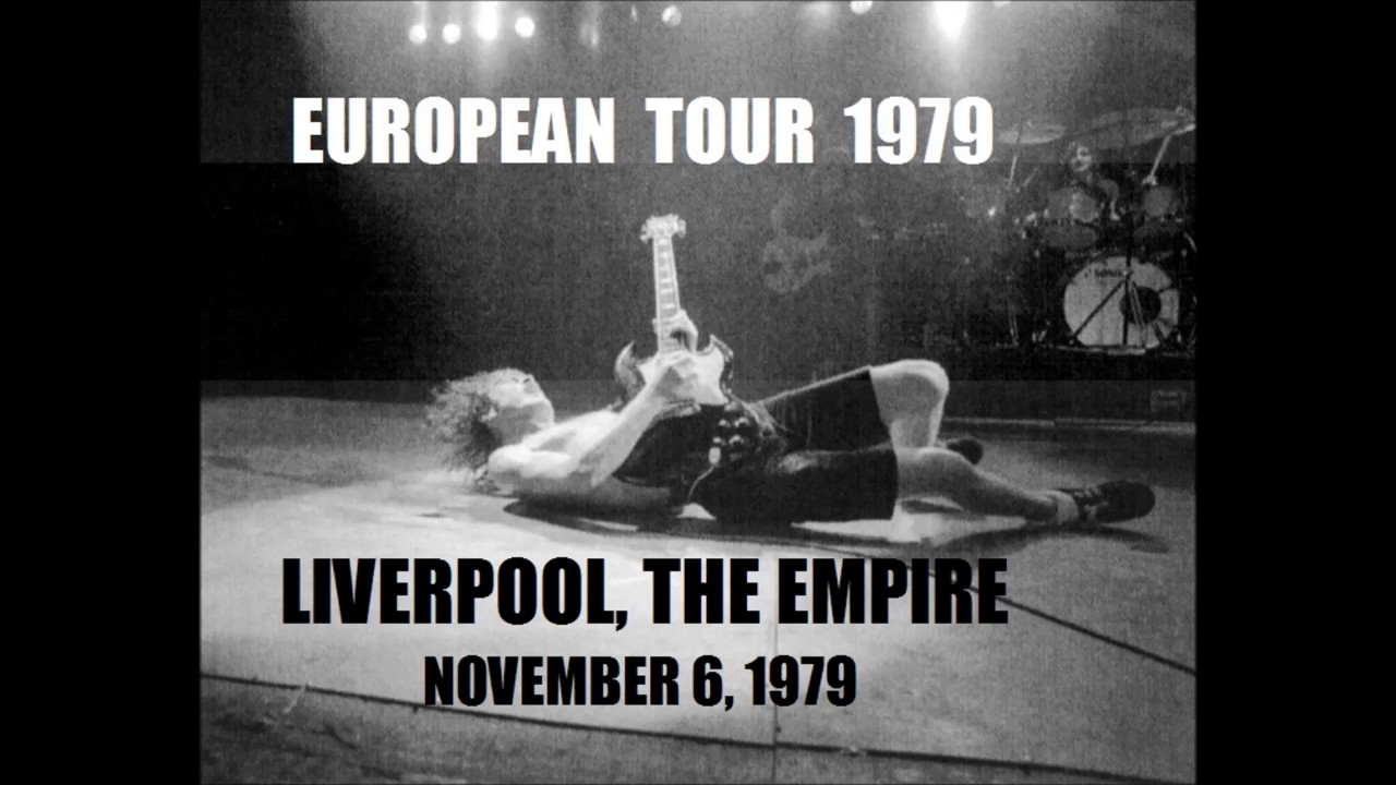 AC / DC - 01 - Live wire (Liverpool - 1979) - YouTube