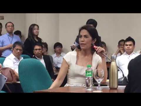 Commission on Appointments Hearing on Gina Lopez March 8 201
