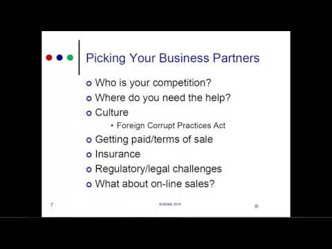 GO-Biz Webinar - Connect Your Small Business to the Global Marketplace