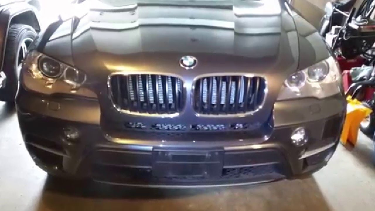 2012 Bmw X5 Fog Light Assembly Removal Youtube