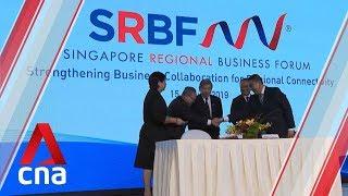 four mous signed at singapore regional business forum