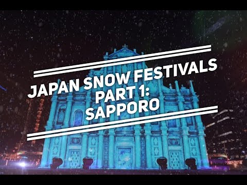 Japan Snow Festivals Part 1: SAPPORO | Japan's Most Popular | Come Away With Me with Bianca Valerio