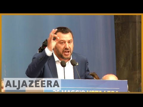 🇮🇹 European elections 2019: Italy's right-wing Lega party woos voters | Al Jazeera English