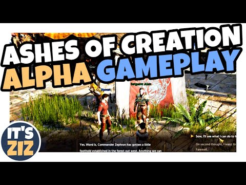 Ashes Of Creation 1hr Alpha Gameplay