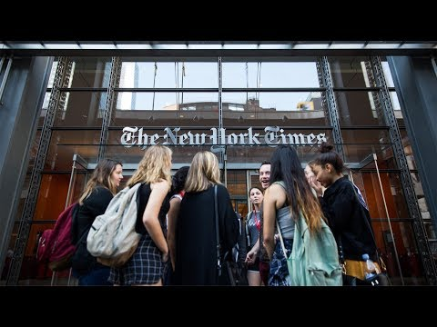 NYC Summer Academy 2018 at The School of The New York Times