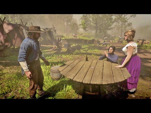 Kieran Confesses to Abigail that he watched Jack get Kidnapped/Hidden Dialogue/Red Dead Redemption 2 thumbnail