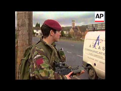NORTHERN IRELAND: LONDON BOMBING SHATTERS 17 MONTH CEASEFIRE