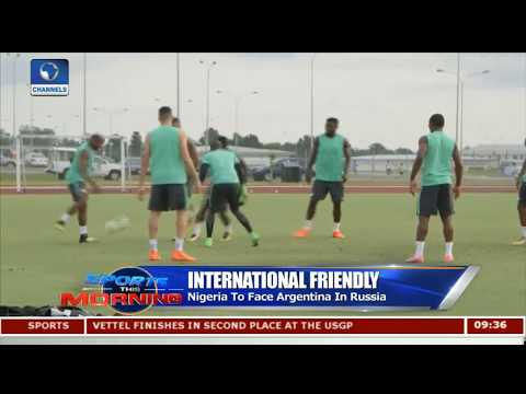 Nigeria vs Argentina Faceoff,Bundesliga Games In Focus Pt.1 |Sports This Morning|