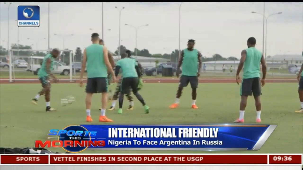 Nigeria vs Argentina Faceoff,Bundesliga Games In Focus Pt.1  Sports This Morning 