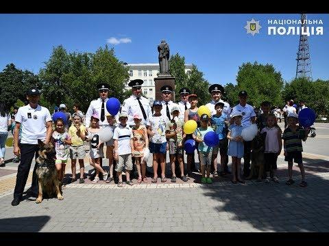 Поліція Луганщини: 04.07.2019_На Луганщині поліцейські відзначили День Національної поліції України