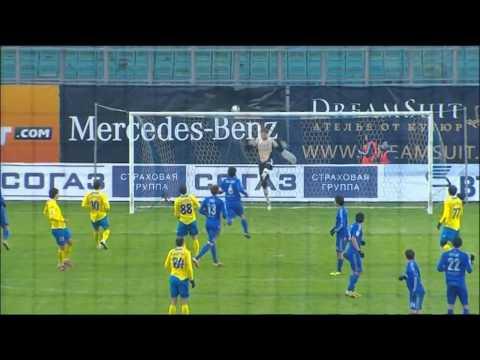 Динамо - Ростов (1-1) Обзор матча