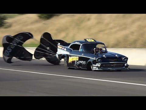 FASTEST OUTLAW NITRO FUNNY CAR IN AUSTRALIA RICK GAUCI NITRO EXPRESS 5.59 @ 257 MPH