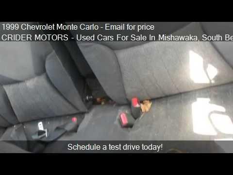 1999 chevrolet monte carlo ls for sale in mishawaka in for Crider motors mishawaka in