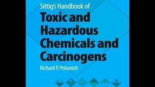 'pdf' Sittig's Handbook Of Toxic And Hazardous Chemicals And Carcinogens Download