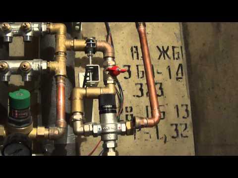 Монтаж водопровода трубами REHAU. Пайка медных труб.