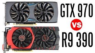 MSI R9 390 Vs EVGA GTX 970 - Which one is the Better GPU?