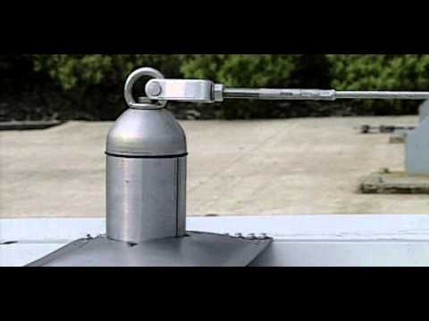 Latchways Mansafe For Roofing Overview Youtube