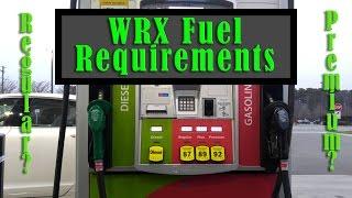 WRX Fuel Requirements: Is Premium Necessary?