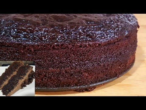 Rich & Moist Chocolate Sponge Cake Recipe -New Foolproof Method -Best Base For Chocolate Cakes