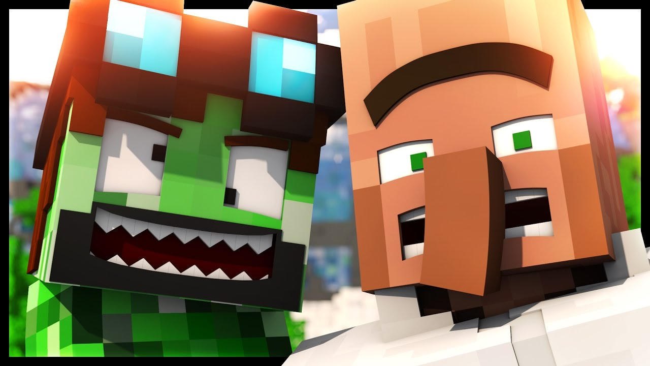 Dantdm Animated How To Be A Creeper Minecraft Animation