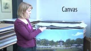 Foto op canvas - dibond - forex of plexiglas? (Consumentenbond)