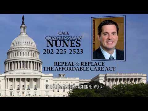Repeal and Replace ACA - Devin Nunes (CA-22)