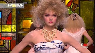 CHRISTIAN DIOR Spring Summer 2009 Haute Couture - Fashion Channel