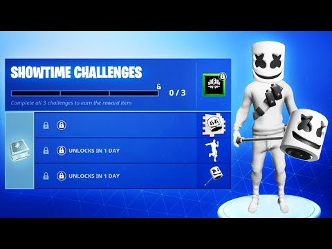 The NEW Fortnite MARSHMELLO CHALLENGES! (New Marshmello Event)