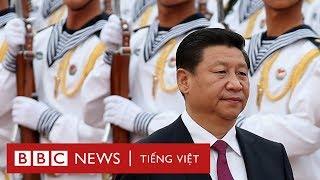 Bắc Kinh phô trương sức mạnh trên biển - BBC News Tiếng Việt