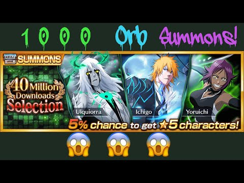 40 Million Downloads Selection Summons!! This Is Insane...😱 (Bleach Brave Souls)
