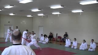 Экзамен 4 кю Айкидо (часть 1), Саранск