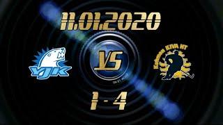 11.01.2020 YJK vs KiVa (1-4)