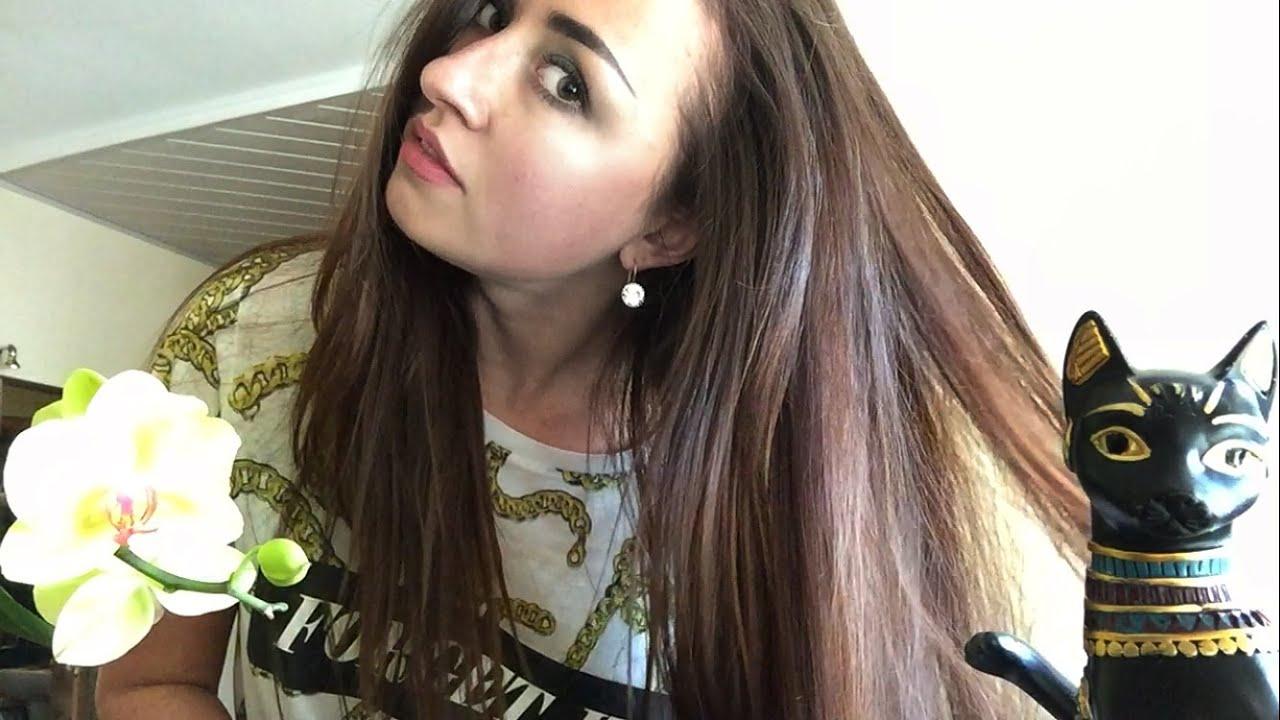 Как перекрасить тёмные волосы в более светлый оттенок? 89