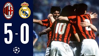 AC Milan 5-0 Real Madrid I AC Milan Legends I Champions League 1988/89